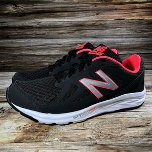 New Balance 490 v4 Black Pink Running Shoe Women